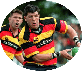 Shane Horgan Rugby Player for Lansdowne