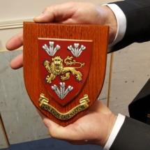 Caernarfon shield