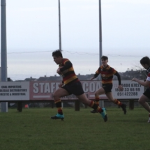 Lansdowne FC U17 v Wicklow RFC Premier Division B Qualifier Dec 2nd 2018_12