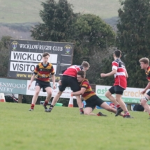 Lansdowne FC U17 v Wicklow RFC Premier Division B Qualifier Dec 2nd 2018_20