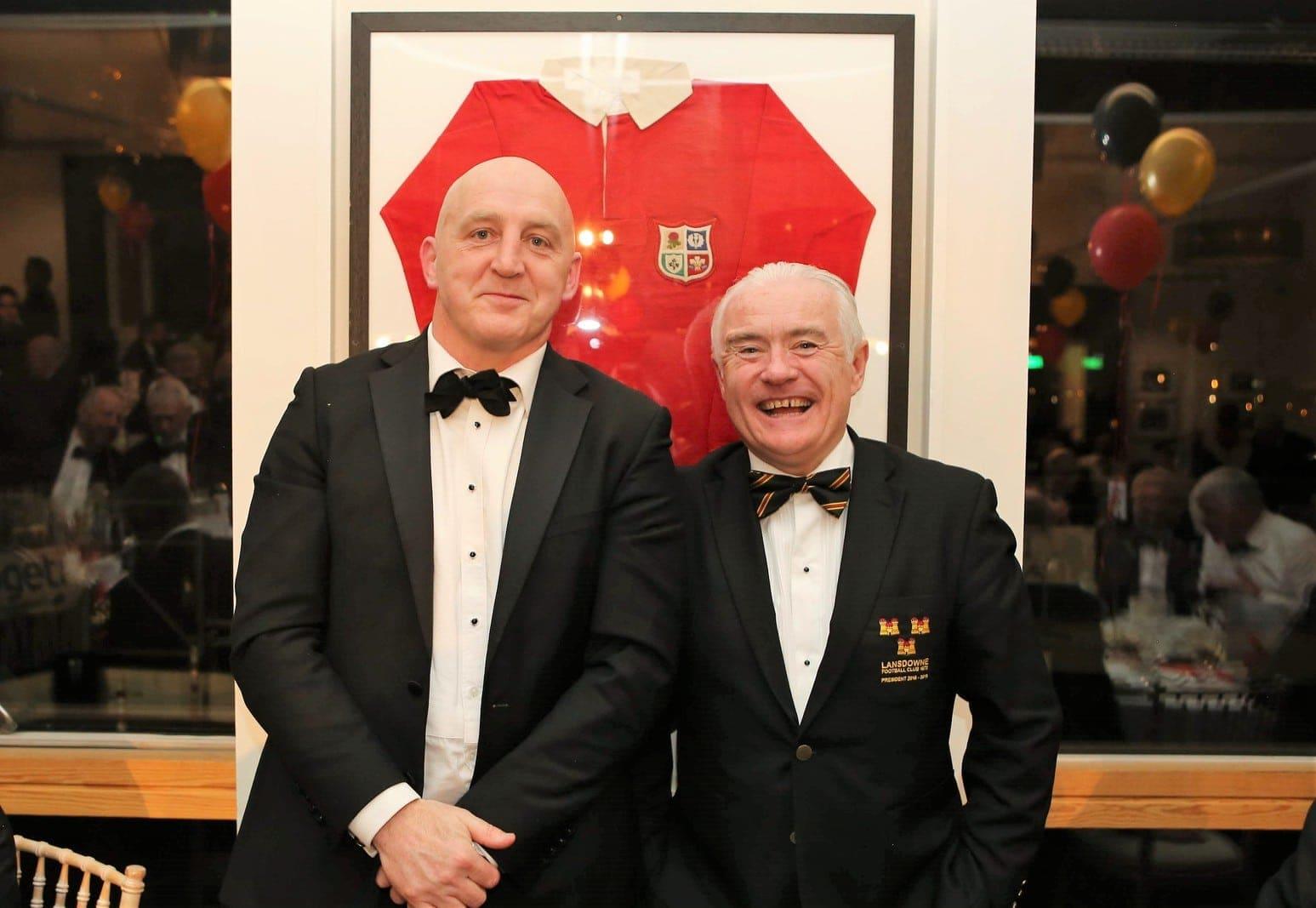 Keith Wood and Kieran Mulligan President's Dinner 2019