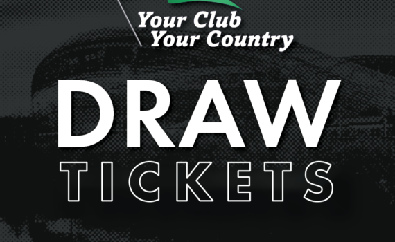 YOUR CLUB YOUR COUNTRY DRAW €500 BUNDLE – 50 TICKETS